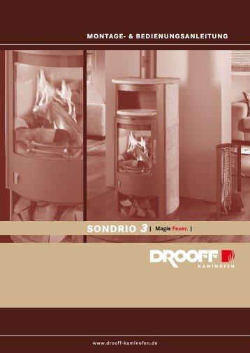 SONDrIO 3 - DROOFF Kaminöfen