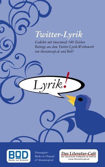Twitter-Lyrik - Media4ways
