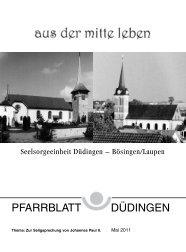 Aus der Sklaverei befreien - Pfarrei Düdingen