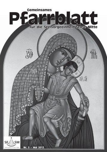 Gemeinsames Pfarrblatt für die Seelsorgeeinheit ... - Pfarrei Heitenried