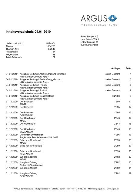 4950 Huttwil - TV Huttwil