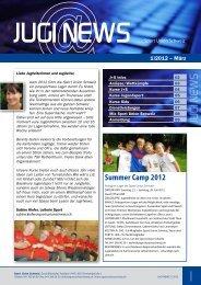 Summer Camp 2012 - Sport Union Schweiz