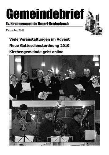 Dezember 2009 - Kirche-Ihmert