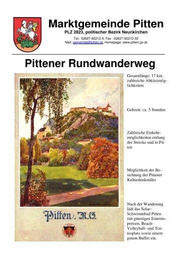 Pittener Rundwanderweg
