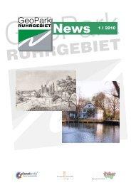 News 1 I 2010 - Geopark Ruhrgebiet