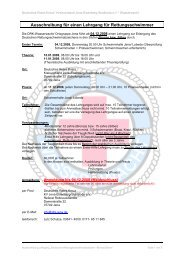 Ausschreibung_ II2008_Donnerstag - DRK-Kreisverband  Jena ...