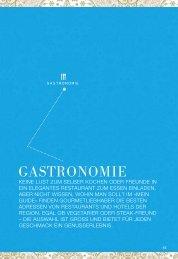 GASTRONOMIE - Mein Guide