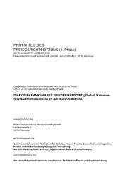 PROTOKOLL DER PREISGERICHTSSITZUNG ... - D&K drost consult