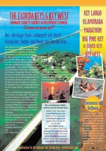 Florida Keys Newsletter - Mercator Reisen