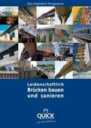 Brücken bauen und sanieren - Quick Bauprodukte GmbH