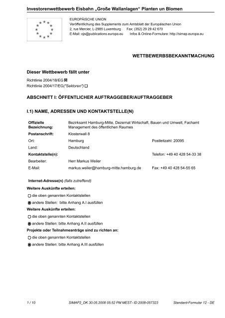 """Investorenwettbewerb Eisbahn """"Große ... - D&K drost consult"""