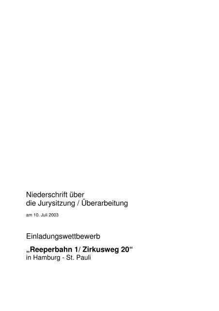 Reeperbahn 1/ Zirkusweg 20 - D&K drost consult