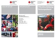 Pflichtfortbildung Rettungsdienst - DRK-Kreisverband Jena ...