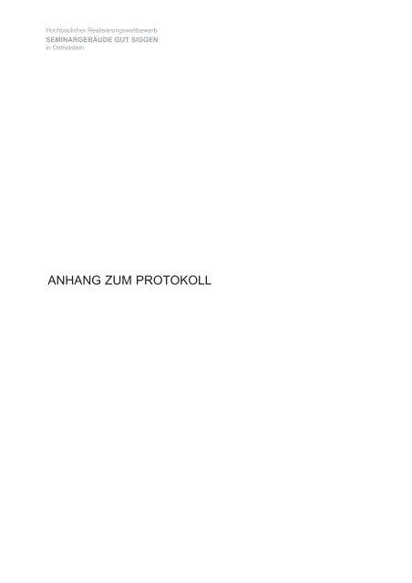 050921 Anhang Protokoll_Preisgerichtssitzung ... - D&K drost consult