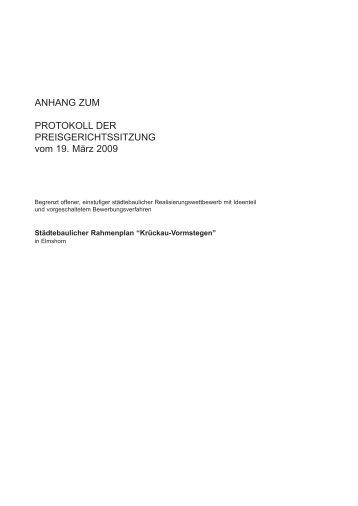ANHANG ZUM PROTOKOLL DER ... - D&K drost consult