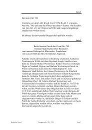 Den 4ten Okt. 780 Circulare von dem Löbl. Kreyß Amt V:O:M ... - Zwettl