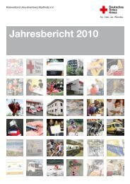 Jahresbericht 2010 - DRK-Kreisverband Jena-Eisenberg-Stadtroda ...
