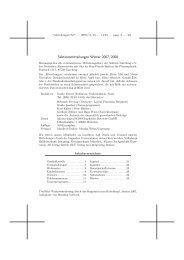 Sektionsmitteilungen Winter 2007/2008 - Tourenwelt.info