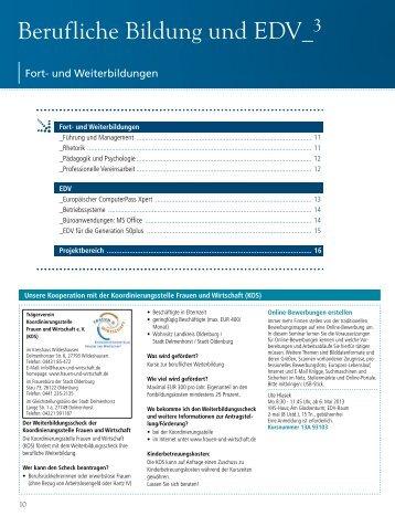 NWZ–Impulse– Vorsprung duch Wissen 2012 - Volkshochschule ...