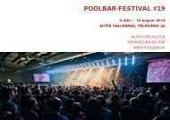 POOLBAR-FESTIVAL #19 - Poolbar.at