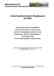Verkehrsaufkommen in Burghausen bis 2025 - Bürgerinitiative ...