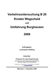 Straßenverkehrs-Gutachten - Bürgerinitiative Verkehrskonzept ...