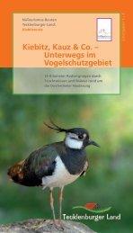 Kiebitz, Kauz & Co. – Unterwegs im Vogelschutzgebiet
