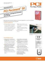 Reparaturmörtel PCI Peciment ® 50 - PCI-Augsburg GmbH