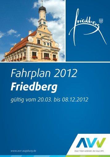 Fahrplan 2012 Friedberg