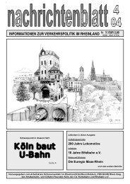 Köln baut U-Bahn - Dr.-Ing. Christoph Groneck ... Planung und ...