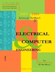 2003-04 - Electrical and Computer Engineering - University of New ...