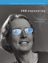 Into the Lab - School of Engineering - University of New Mexico