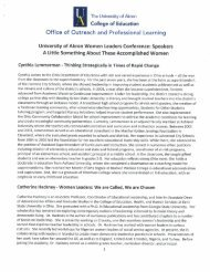 Office of Outreach and Professional Learning - The University of Akron