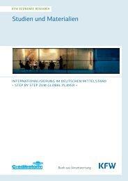 Internationalisierung im deutschen Mittelstand - KfW
