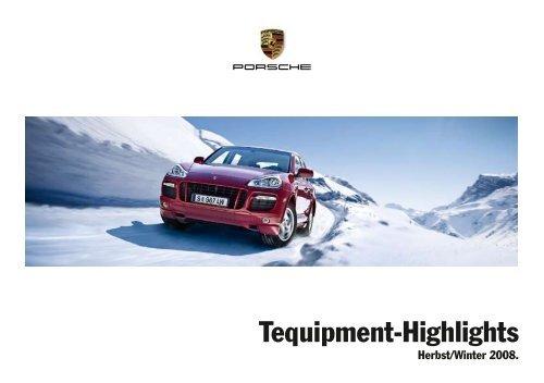 Tequipment-Highlights - Porsche