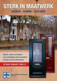 Sterk in maatwerk - Henk Nederlof Deuren