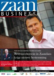 Bruynzeelterrein in Zaandam krijgt nieuwe ... - Zaanbusiness