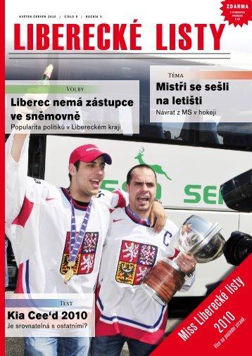 Okres Liberec - Liberecké listy