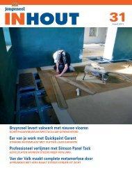 Bruynzeel levert vakwerk met nieuwe vloeren Eer van je werk met ...