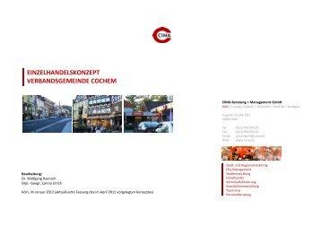 Zuordnung der CIMA-Warengruppen zu den Waren