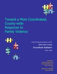 Toward a More Coordinated, County-wide Response to Family ...