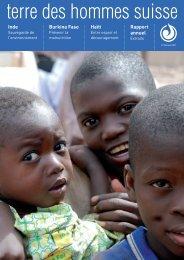 Burkina Faso - Terre des Hommes Suisse