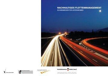 NACHHALTIGES FLOTTENMANAGEMENT - Novatlantis