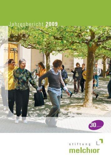 Jahresbericht 2009 - Stiftung Melchior
