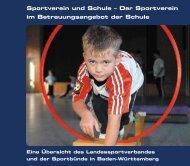 Sportverein und Schule - Landessportverband Baden-Württemberg