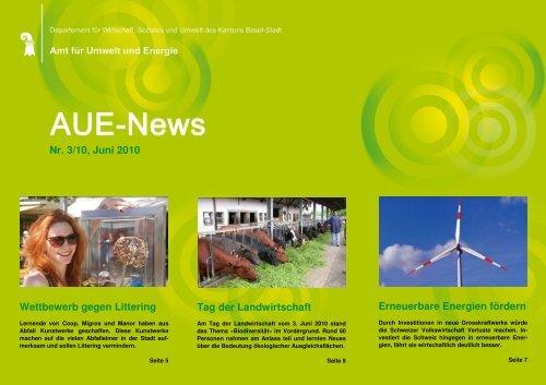 Wettbewerb gegen Littering - Amt für Umwelt und Energie - Basel ...