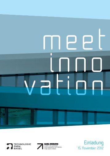 "Einladung ""meet innovation"""