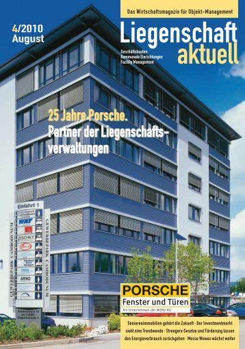 25 Jahre Porsche. Partner der Liegenschafts ... - VDIV-Partner