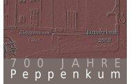 Broschüre 700 Jahre Peppenkum - Gemeinde Gersheim