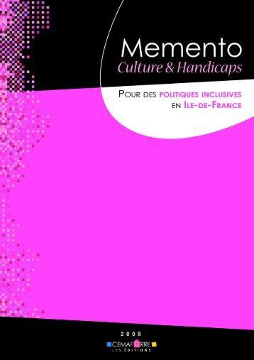 Memento Culture & Handicaps - Cemaforre